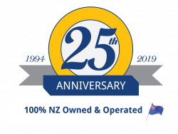25th Anniversary NZ Trustpilot