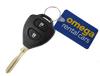 keys on Omega keytag sml