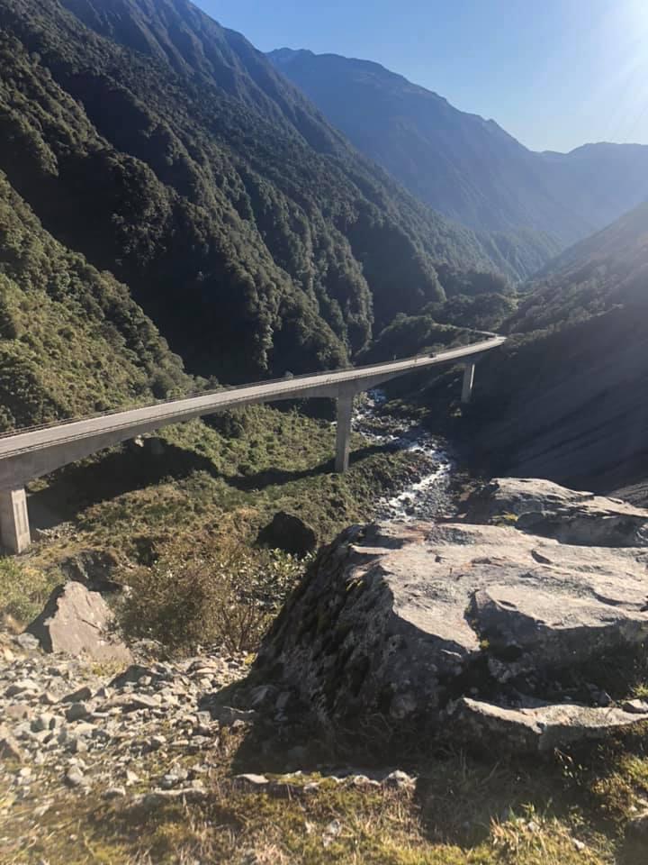 Viaduct in Arthurs Pass