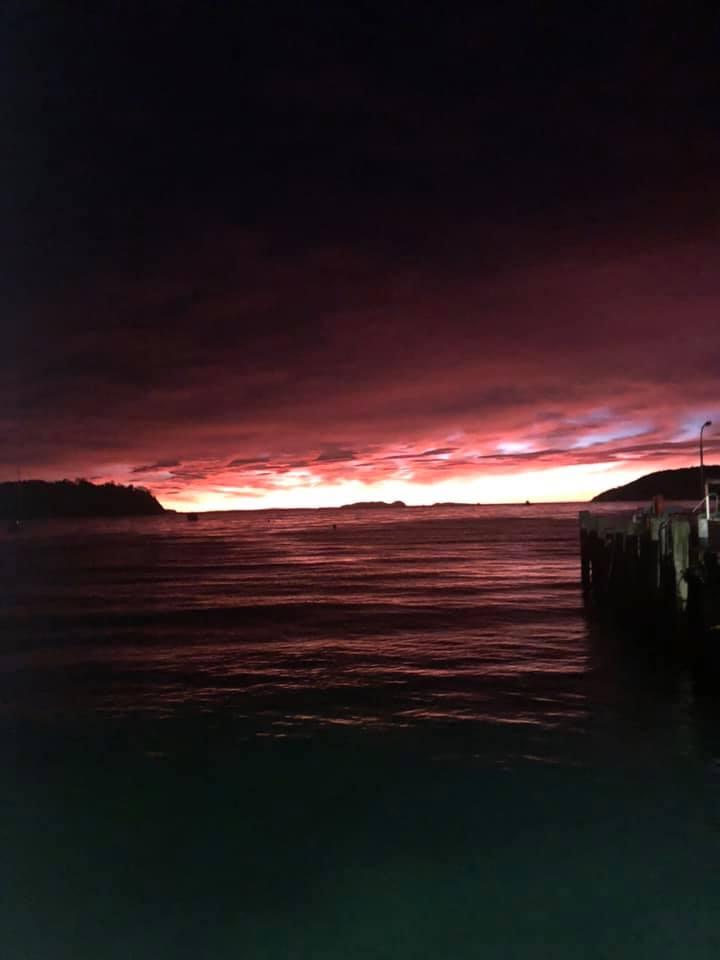 ferry on Stewart Island
